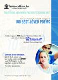 100 Best Loved Poems - Teaching Unit
