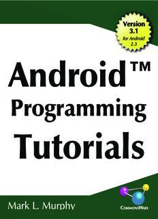 Android Programming Tutorials