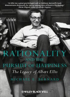 Rationality and the Pursuit of Happiness: The Legacy of Albert Ellis
