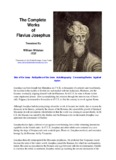 The Works of Flavius Josephus - Ultimate Bible Reference Library