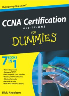 CCNA Certification All-In-One For Dummies (7 books in 1)