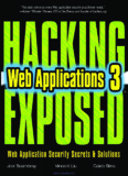 Hacking Exposed™ Web Applications