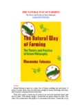 The Natural Way of Farming - Masanobu Fukuoka - Rivendell Village