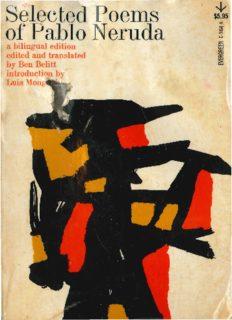 Selected Poems of Pablo Neruda [Bilingual Edition]