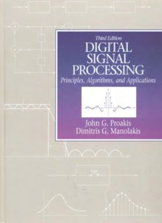 Digital Signal Processing: Principles, Algorithms & Applications (3rd