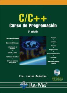C-C++ Curso de Programación