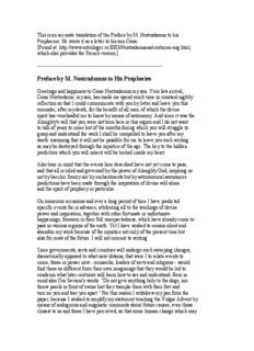 Nostradamus - Prophecies.pdf