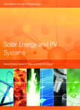 Solar Energy and PV Systems