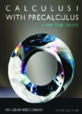 Calculus I with precalculus : a one-year course