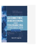 Geometric Dimensioning and Tolerancing for Mechanical Design