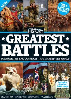 Asadi Aaron (Publishing Director) All About History Book Of Greatest Battles