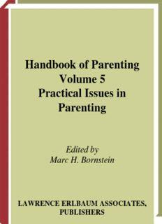 Handbook of Parenting Volume 5 Practical Issues in Parenting
