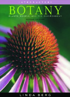 Introductory botany : plants, people, and the environment