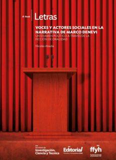 Voces y actores sociales en la narrativa de Marco Denevi