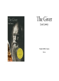 The Giver : Full Text Online