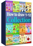 How to Draw Collection 1-12