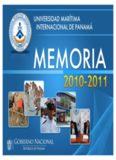 Page 1 Page 2 Excelentísimo Señor Ricardo Martinelli Berrocal Presidente de la República de ...