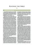 ESV Study Bible: Reading the Bible