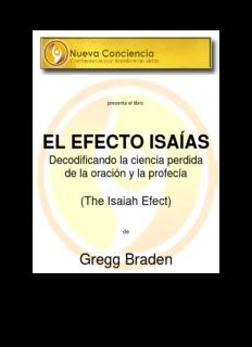 EL EFECTO ISAÍAS – Gregg Braden