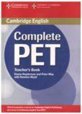 Cambridge English Complete PET Teacher's Book 2014