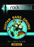 Guitar, Bass & Drums Syllabus - Rockschool