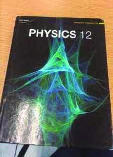 Nelson Physics 12: University Preparation