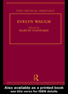 Evelyn Waugh (Collected Critical Heritage)
