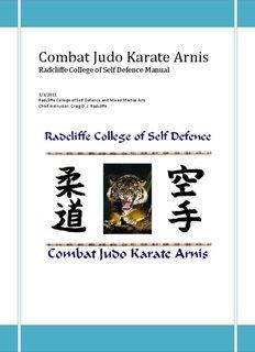 Combat Judo Karate Arnis