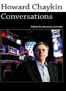Howard Chaykin: Conversations