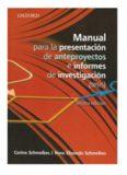 MANUAL PARA LA PRESENTACION DE ANTEPROYECTOS E INFORMES DE INVESTIGACION: (TESIS)