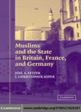 Muslims and the state in Britain, France, and Germany / Joel S. Fetzer, J. Christopher Soper