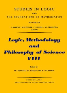 Logic, Methodology and Philosophy of Science VIII: Proceedings of the Eighth International Congress of Logic, Methodology and Philosophy of Science,: ... and Philosophy of Science// Proceedings)