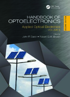 Handbook of Optoelectronics, Second Edition: Applied Optical Electronics (Volume Three) (Series in Optics and Optoelectronics) (Volume 3)
