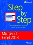 Microsoft® Excel® 2013 Step by Step - UMS