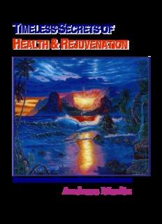 Andreas Moritz Timeless Secrets of Health Rejuvenation