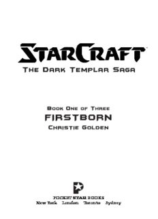 Starcraft: Dark Templar #1: Firstborn