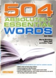 504 ABSOLUTELY ESSENTIAL WORDS, 6th Edition