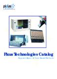 full catalog PDF - Pixus Technologies
