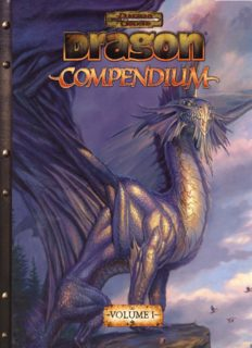 Dragon Compendium, Vol.1 (Dungeons & Dragons)