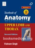 textbook of anatomy upper limb and thorax