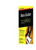 Bass Guitar For Dummies®, 2nd Edition