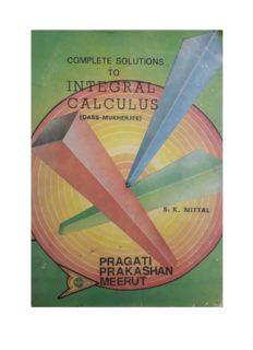 S K Mittal Solution to Integral Calculus Das Mukherjee Part 2 Pragati Prakasan Meerut for standard 11 12 IIT JEE Engineering Entrance Examinations