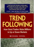 Michael Covel - Trend Following. How Great Traders Make Millions in Up or Down Markets.pdf