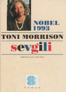 Sevgili - Toni Morrison