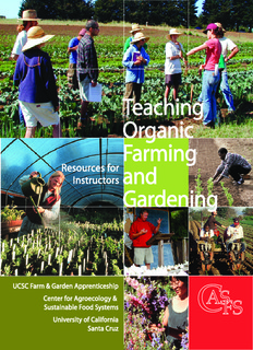 Teaching Organic Farming and Gardening - Center for Agroecology