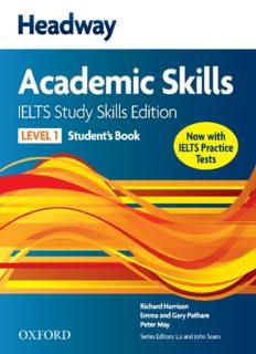 Headway Academic Skills. IELTS Study Skills Edition. Student's Book