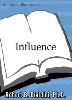 Robert B. Cialdini INFLUENCE (the psychology of persuasion).