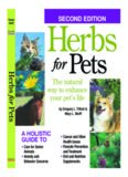 Herbs for Pets : the Natural Way to Enhance Your Pet's Life