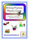 Jolly Phonics Writing Practice: Phonics Cards