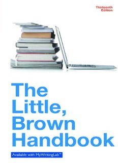 Little Brown Handbook, The, MLA Update Edition